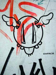 D*Face. #dface http://www.widewalls.ch/artist/dface/
