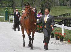 Rolex Kentucky Three-Day Event First Horse Inspection