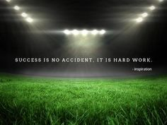 A modern inspirational quote on an image of an empty stadium to share your football tips on social media. Motivational Quotes, Inspirational Quotes, Work Hard, Empty, Social Media, Football, Posts, Templates, Tips