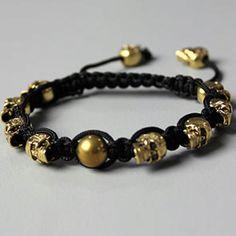 Gold Skull Shambala Kazbah
