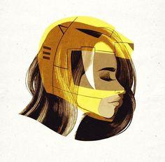 Yellow Ranger by Jublin on Instagram