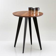 WATFORD Vintage Pedestal Table or End Table La Redoute Interieurs | La Redoute Mobile