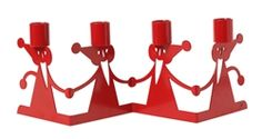 Bengt & Lotta Christmas Parade Advent Candle Holders at Northlight