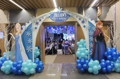 I WANT A FROZEN PARTY!!!!