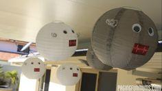 Robot Party Decoration Ideas -