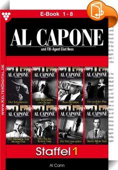Al Capone Staffel 1 - Kriminalroman : -Staffel 1- Hier erhalten Sie die ersten acht Folgen in einer Ausgabe! Serienbeschreibung: Der Schriftsteller Al Cann weiß alles über den unbestechlichen FBI-Agenten Eliot Ness und den berüchtigtsten aller Gangster, den Italo-Amerikaner Al Capone, der nicht nur Chicago, sondern das ganze Land in Atem hielt. AL CAPONE ERSCHEINT EXKLUSIV ALS E-BOOK! E-Book 1: Der Nebelmörder E-Book 2: Der Serienkiller von Chicago E-Book 3: Boss Drenkhan E-...