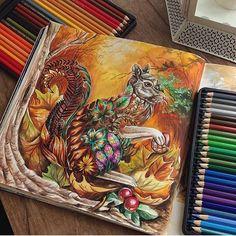 Instagram media coloring_secrets - Lovely! By @eli_federzoni ❤️❤️