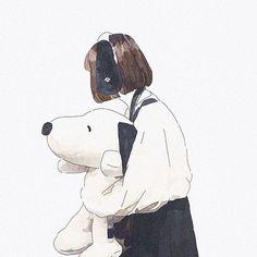 Fantasy Illustration, Cute Illustration, Cartoon Wallpaper Iphone, Cute Art Styles, Cartoon Profile Pictures, Anime Scenery, Anime Fantasy, Girl Cartoon, Aesthetic Art