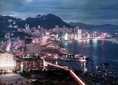 昔日香港夜景