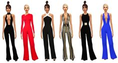 Jumpsuit Collection at Sims Boutique via Sims 4 Updates
