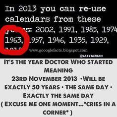 The exact. Same. Day.