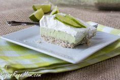 Sugar-Free No Bake Key Lime Pie Bars