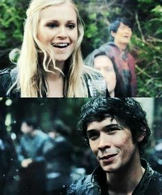 They were so cute and happy. #Bellarke