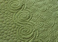 Circle column, large swirl column, small swirl column by angela walters--lots more eye candy on the link Machine Quilting Patterns, Longarm Quilting, Quilting Tips, Free Motion Quilting, Quilting Tutorials, Quilt Patterns, Midnight Quilt Show, Quilt Stitching, Scrappy Quilts