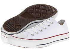 White Converse with (this is very important) the old logo on the tongue and heel. I Want These So Bad