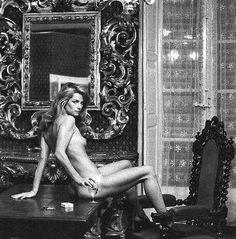 Charlotte Rampling 1974 Helmut Newton