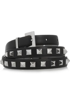 Studded belt by Valentino. $415 RRP