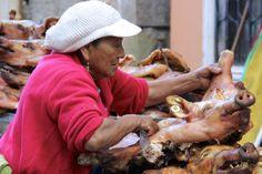 Donna al mercato di Guamote