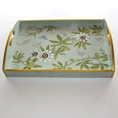 hand painted, wooden trays - Google Search