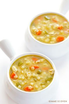 Learn how to make homemade chicken and stars soup with this quick, easy, all-natural, and totally delicious recipe!