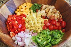 Fiesta Ranch Pasta Salad