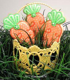 carrots for easter! LOVE!