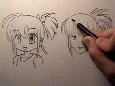 Manga Face Tutorial: Cartoony Vs. Realistic