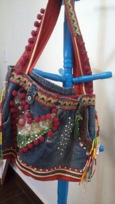 Bolsa estilo ondiano.artesanato sofisticado.