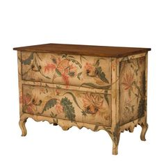 Love this painted chest.
