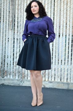 372f71c0060 Bubble Skirt by GirlWithCurves
