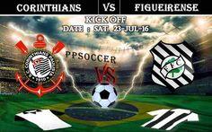 Corinthians vs Figueirense 23.07.2016 Free Soccer Predictions, head to head, preview, predictions score, predictions under/over Brazil: SERIE A