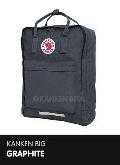 Kanken Big - Graphite  http://www.ilovemykanken.com/shop/products/fjallraven-big-kanken-graphite.htm
