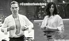 #Cumberbatching as seen on http://morelikeradio.com