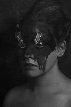 A Flare Up  FREE SHIPPING  Print. Caryn Drexl Photography. Conceptual, Surreal, Portraits.