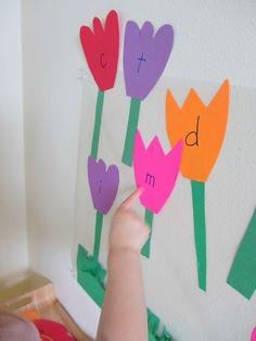 letter flower #alphabet