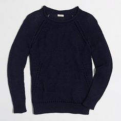 J.Crew Factory - Factory beach sweater with pointelle details