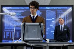 Q's a little skinny for my taste...but what a cutie. Plus, techy/nerdy is always hot. Ben Whishaw - Skyfall