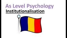 What is institutionalisation? In this lesson we will answer this and learn about O'Connor et al's experiment in Romanian orphanages. A Level Revision, Psychology A Level