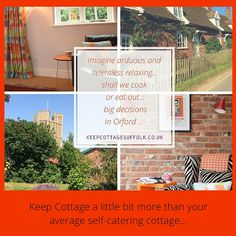 Keep Cottage more than your average self catering holiday cottage.