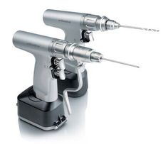 Large bones fragments surgical drill (electrical, with battery) ORTHODRIVE™ DeSoutter Medical