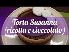 Torta Susanna di Parma al cioccolato dolce alla ricotta - YouTube