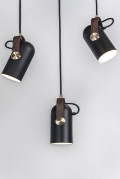The Le Klint Carronade Suspension Lamp was created by Markus Johansson for danish design label Le Klint.Goteborg-based Markus Johansson is an award-winning prod Spot Luminaire, Luminaire Design, Lamp Design, Hanging Lights, Wall Lights, Ceiling Lights, Interior Lighting, Home Lighting, Modern Lighting Design