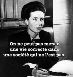 Les meilleures citations de Simone de Beauvoir