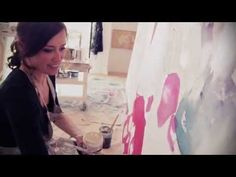 Melissa Herrington Artist Studio - YouTube