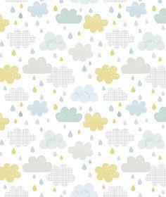 Stickers crocodile et éléphant Smile, it's raining by Dawn Machell x 42 cm) Papel Scrapbook, Baby Scrapbook, Easy Up, Scrapbook Patterns, Printable Paper, Baby Prints, Surface Pattern Design, Paper Background, Pattern Paper