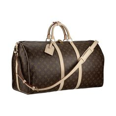 The Louis Vuitton Keepall is the ideal travel companion for the weekend. Light and easy, take it anywhere.