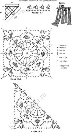 Southern Diamonds Stitch Diagram Extended Rows – Crochet World Crochet Baby Dress Pattern, Crochet Motif Patterns, Granny Square Crochet Pattern, Crochet Blocks, Crochet Diagram, Crochet Chart, Crochet Squares, Crochet Granny, Crochet Designs