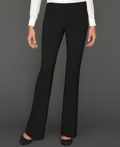 INC International Concepts Curvy-Fit Suiting Trousers - All Suits & Suit Separates - Women - Macy's