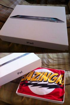 Lol... this would be awesome if you actually WERE getting them the iPad (or whatever it ends up being) and put that in a different box. Otherwise, it just seems a little mean... :)