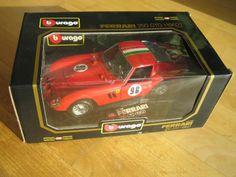 Bburago Ferrari 250 GTO 1:18 Sondermodell Aufkleber Nr. 96